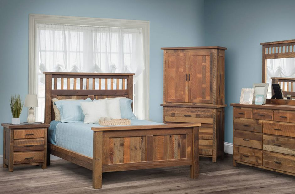 Limington Barnwood Bedroom Set image 1