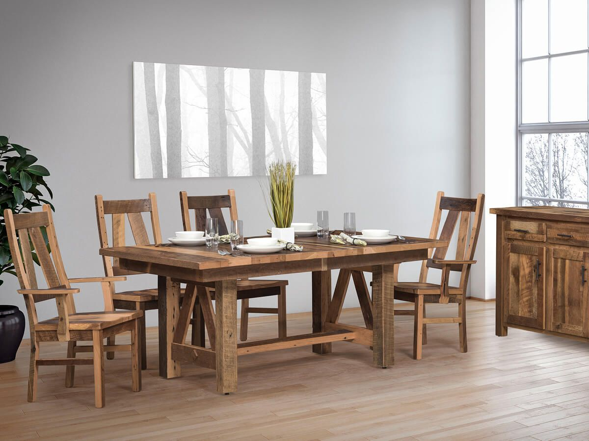 Maywood Park Reclaimed Dining Set