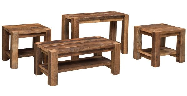Portland reclaimed coffee table countryside amish furniture for Portland reclaimed wood furniture