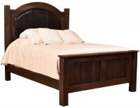 Searsport Reclaimed Upholstered Bed