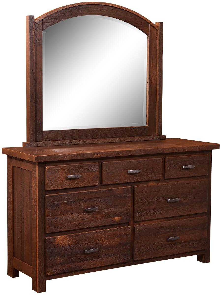 Searsport Reclaimed Mirror Dresser
