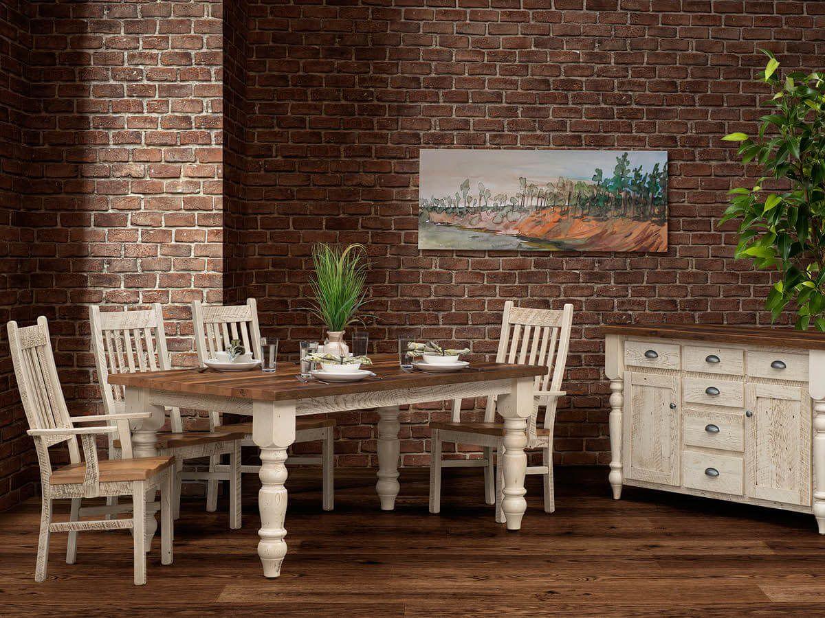 Reclaimed Barnwood Dining Furniture