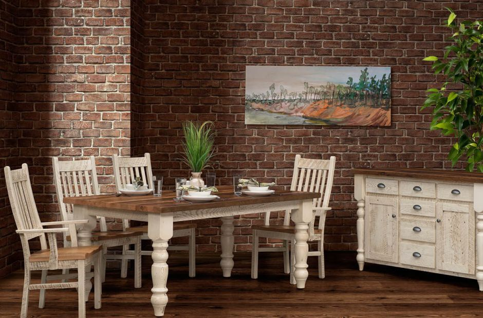 Friars Point Farmhouse Dining Set image 3