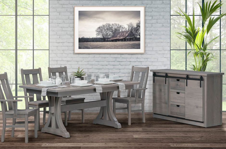 Lamar Reclaimed Dining Set image 1