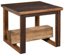 Paraway Reclaimed End Table