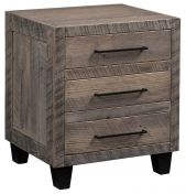 Parkin Reclaimed 3-Drawer Night Table