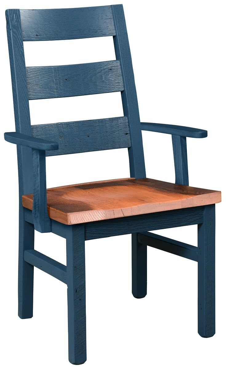 Rector Reclaimed Ladder Back Arm Chair