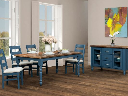 Reclaimed Barnwood Dining Furniture