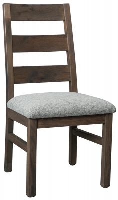 Ladder Back Chair with Seat Cushion