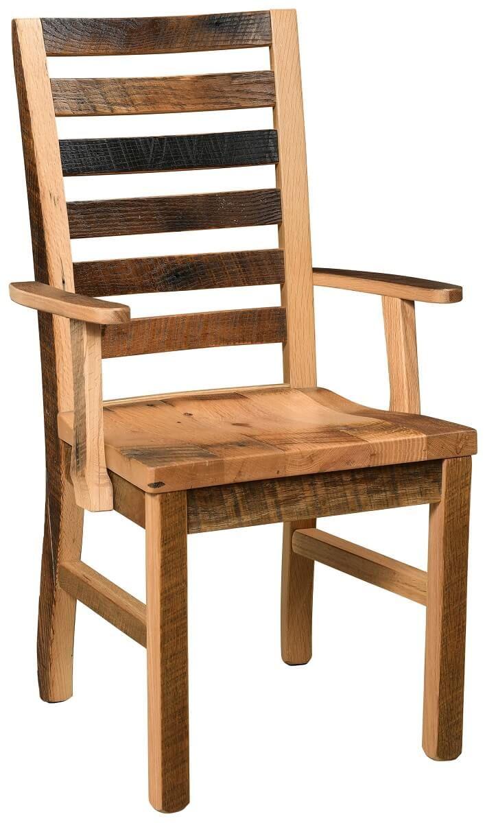 Eastern Plains Reclaimed Kitchen Arm Chair