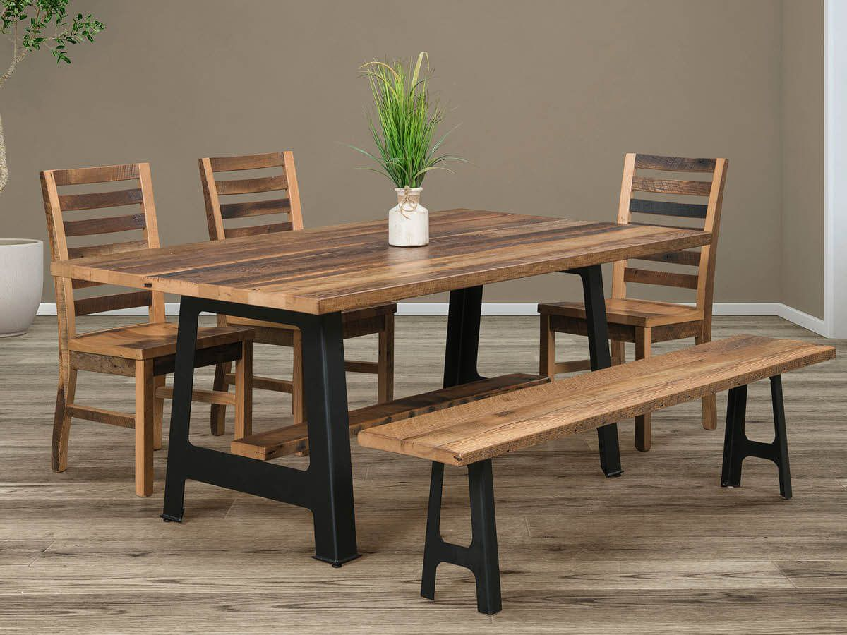 Eastern Plains Reclaimed Dining Collection