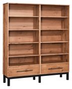 Clay City Double Bookcase