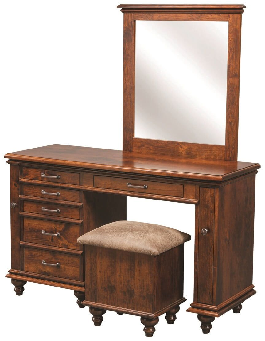 Derry Vanity and Stool