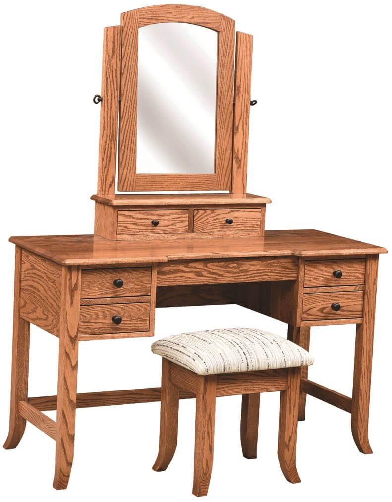Shaker Style Vanity and Stool