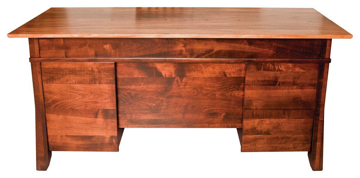 Candler Pedestal Desk Back