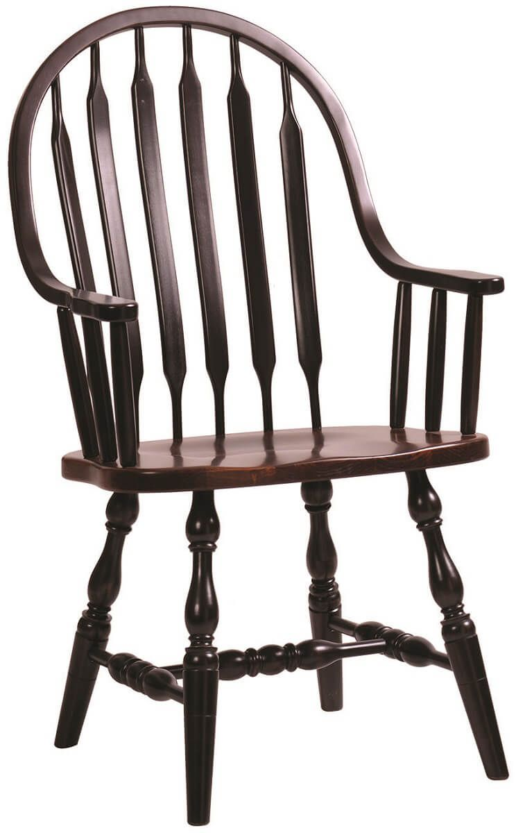 Alabama High Bent Paddle Continuous Arm Chair