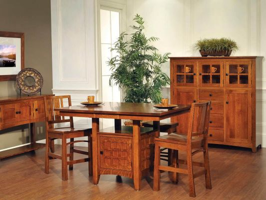 Gilbert Mission Pub Dining Set