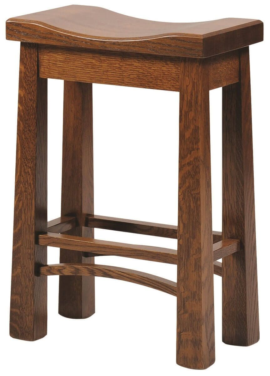 Gilbert Saddle Stool