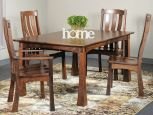 Kaskaskia Mission Dining Chairs and Ira Leg Table