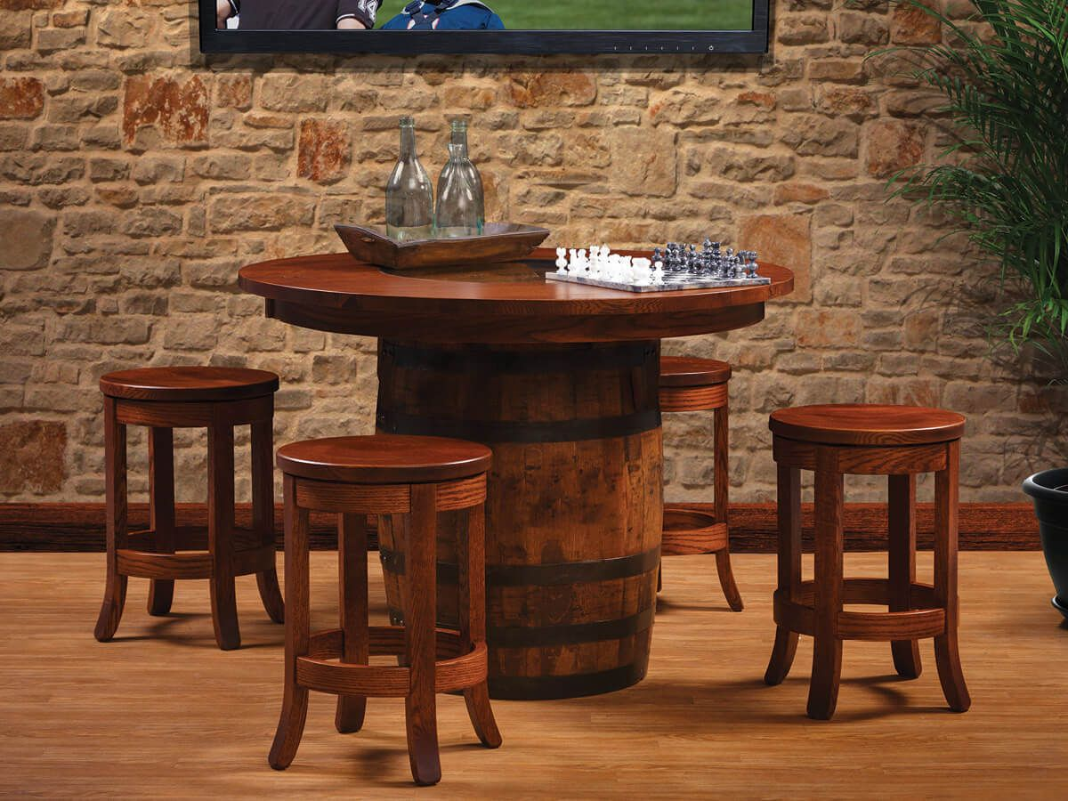 Shown with La Coste Barrel Table