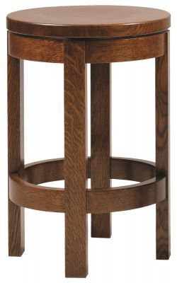 24 Inch River Walk Swivel Stool