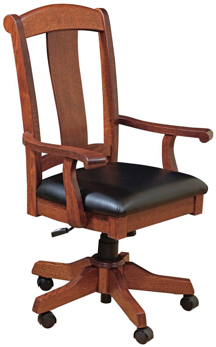 Quartersawn White Oak Desk Chair