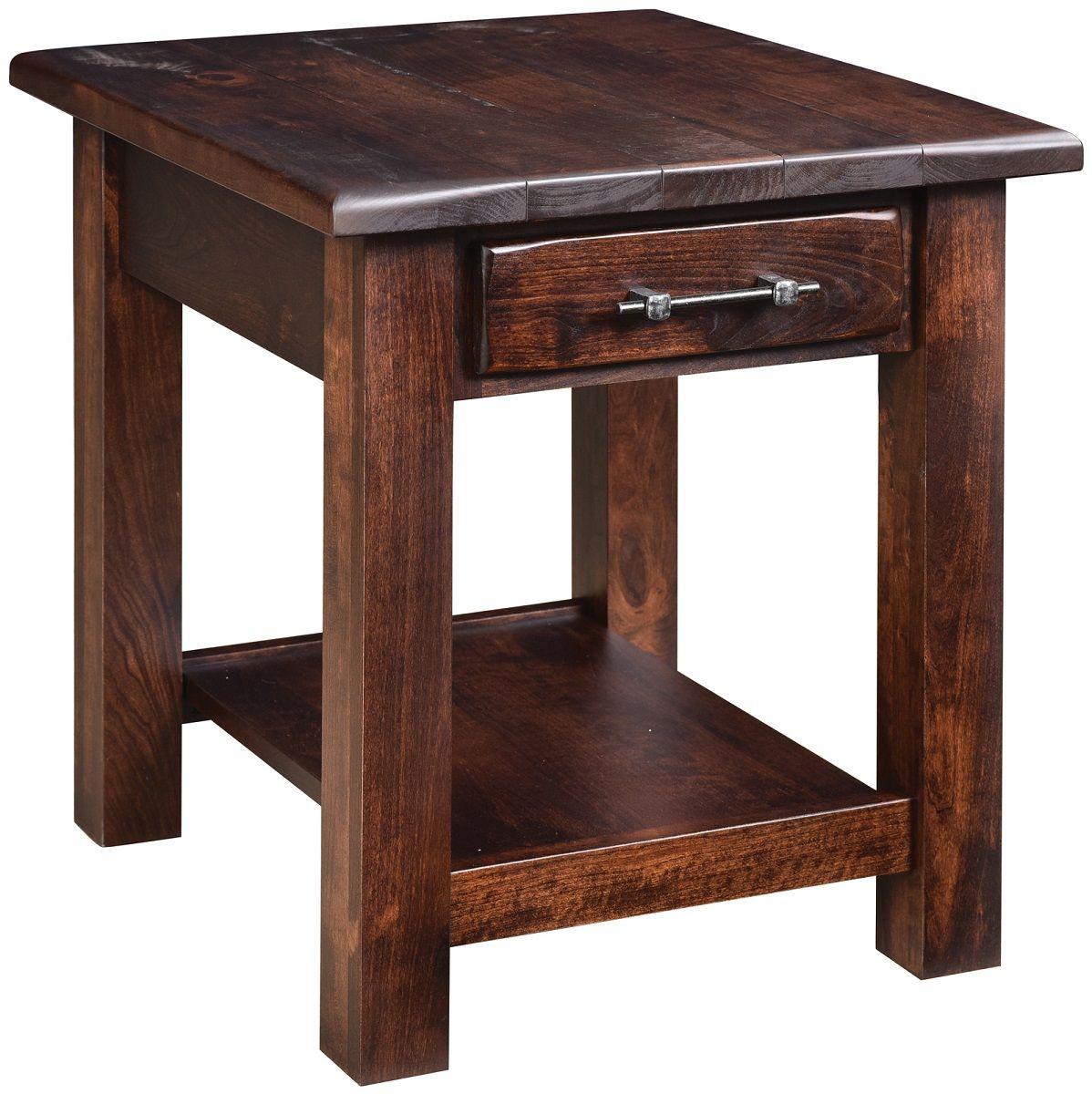 Scottsbluff 1-Drawer Side Table