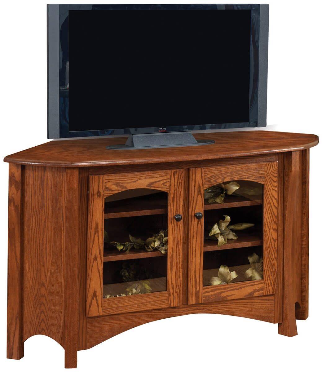 Yutan Corner TV Cabinet