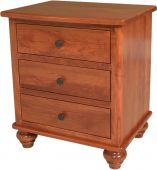 Merton 3-Drawer Nightstand