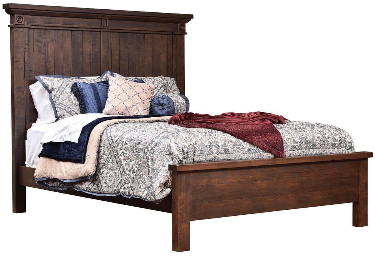 Beechwood Panel Bed