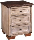Druid Hills 3-Drawer Nightstand