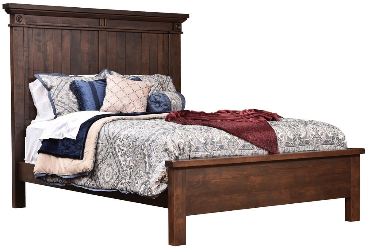 Beechwood Panel Bed