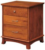 Crofton 3-Drawer Nightstand