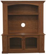 Luttrel 2-Door Entertainment Center