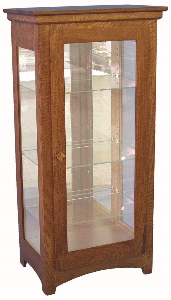 Sycamore Curio Cabinet