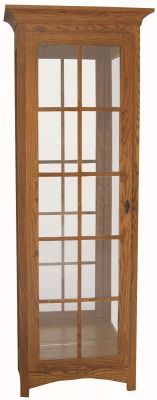 Worthville 1-Door Curio