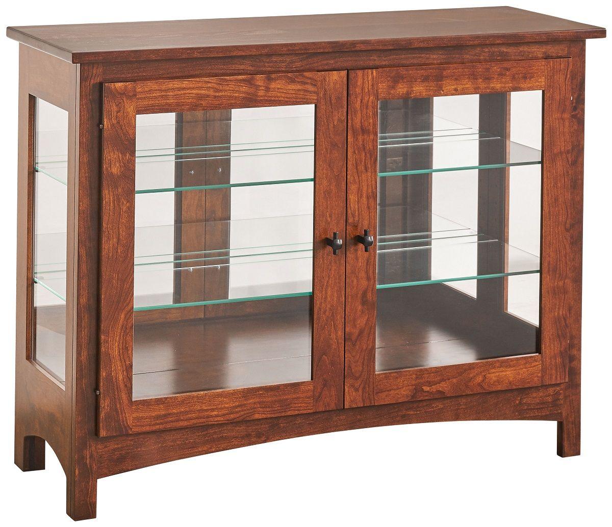Amish Made Curio Cabinet