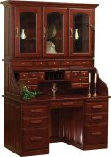 Albion Rolltop Desk with Hutch