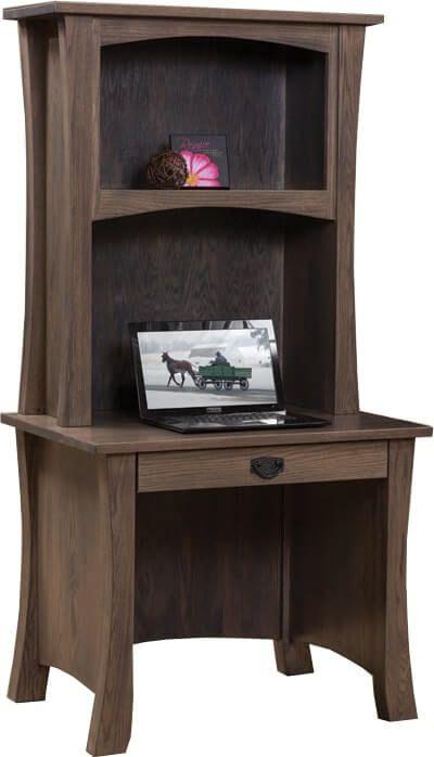 Garland Petite Desk with Hutch