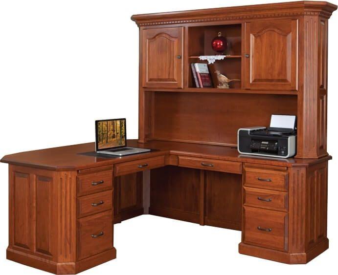 Glocester L-Shaped Desk