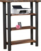 Sebec Live Edge Bookshelf
