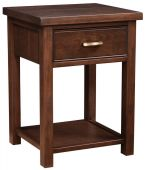 Beechwood 1-Drawer Nightstand