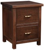 Beechwood 2-Drawer Bedside Table