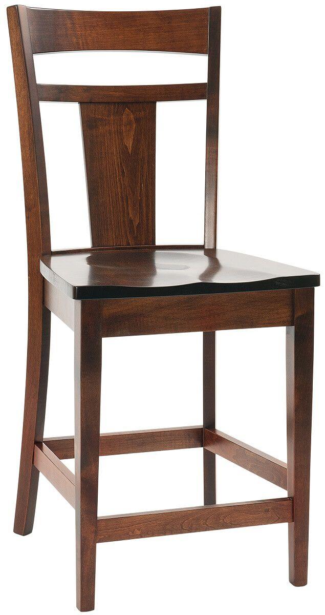 Augusta Handmade Amish Bar Chairs