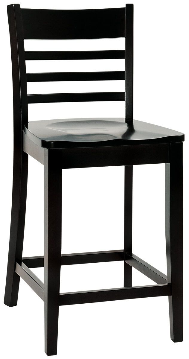 Baldacci Modern Ladder Back Pub Chair