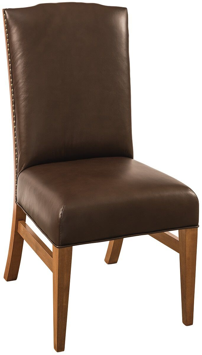 Belleek Leather Side Chair