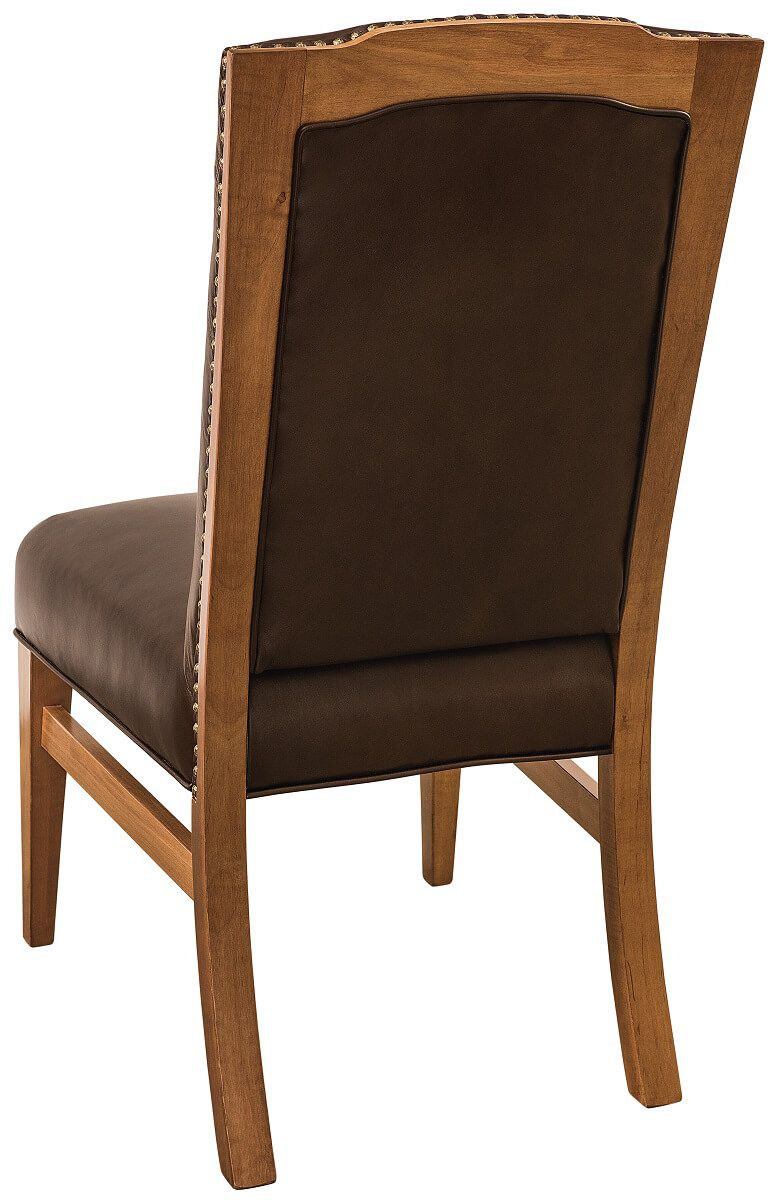 Leather Amish Made Chair