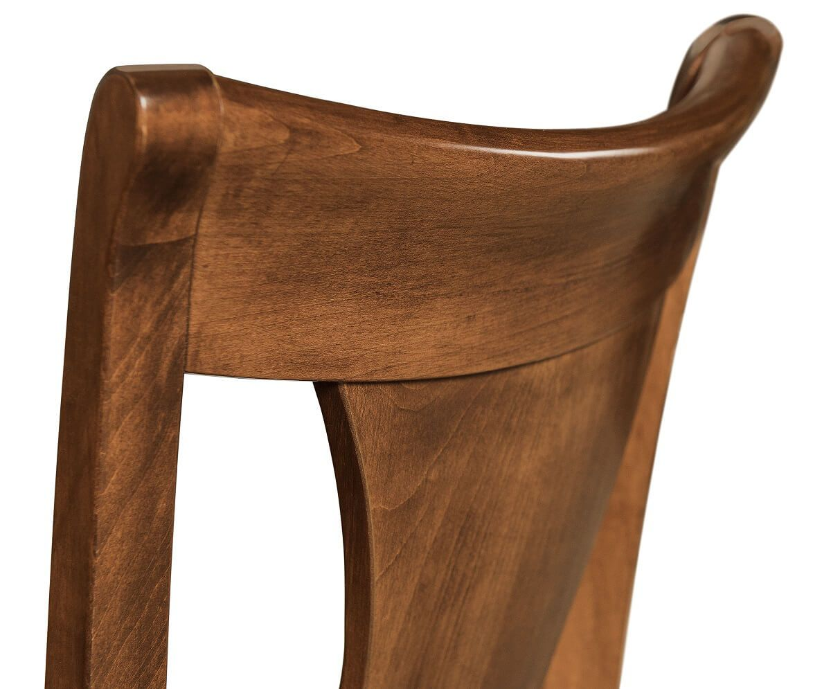 Brown Maple Chair Back