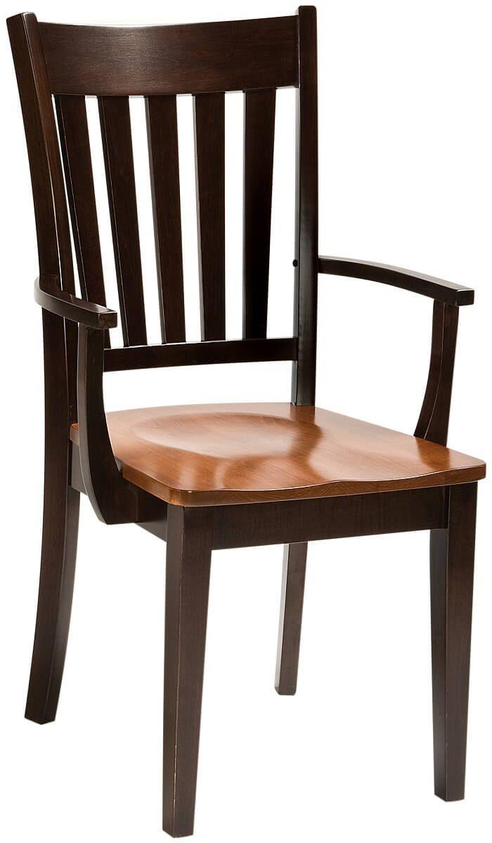 Conran Solid Wood Modern Kitchen Arm Chair