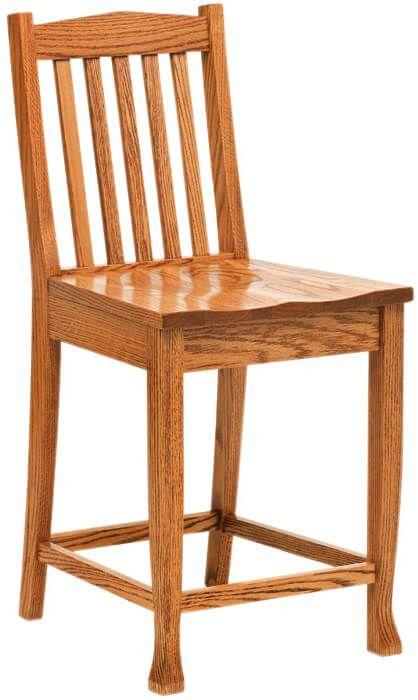 Del Sol Transitional Pub Chairs